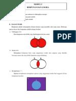 Modul 5 Himpunan Dan Logika