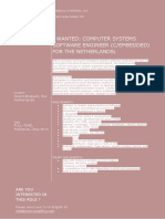 Embedded C Developer