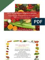 Recetas sabrosas de fruta y verdura