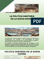 La Politica Sanitaria en La Nueva España