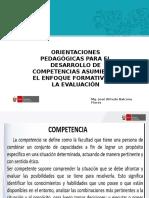 3. Orientaciones Pedagógicas Para El Desarrollo de Competencias Asumiendo El Enfoque Formativo de La Evaluación
