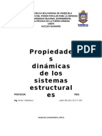 Propiedades Dinámicas de Los Sistemas Estructurales Pablo