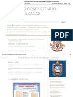 Servicio Comunitario Unefa Caracas_ Descargas, Orientación, Modelos, Planillas y Notificaciones