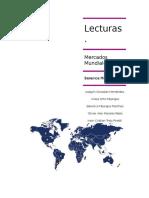 Lecturas Obligatorias de Mercados Mundiales