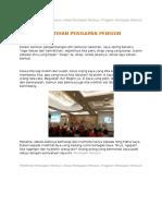 Pelatihan Persiapan Pensiun, Masa Persiapan Pensiun, Program Persiapan Pensiun