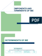 Components of IBE