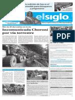 Edición Impresa Elsiglo 03-12-2016