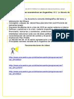 Apuntes de Apoyo Clase Te Rica VI La D Cada Del 30 en Argentina
