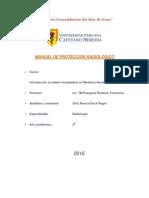 Manual de Protección Radiológico