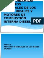 Aspectos Básicos de Los Gases Ideales y Motores de Combustión Interna Diesel
