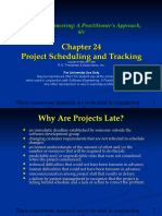 Chapter 024 Proj Scheduling N Tracking