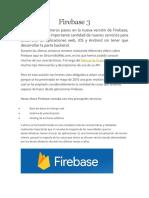 Firebase 3