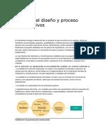 Calidad Del Diseño y Proceso Constructivos