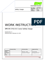 BMI WI 5762 03 Crane Safety Usage