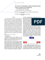 Study of Airport Self-service Technology within Experimental Research of Check-in Techniques Case Study and Concept
