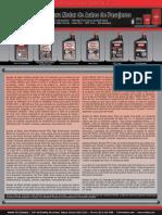 Material Aceites Motores Fluidos Transmision Engranajes Tablas Inspeccion Aplicaciones Rendimiento Amalie