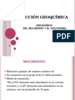 Molibdeno y Wolframio