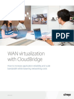 Wan Virtualization With Citrix Cloudbridge