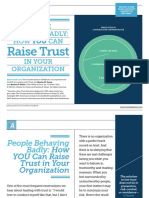 Raise Trust in Your Organization