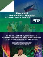 OPPAP- 3rd ARRM Summit- Peace & Dev Roadmap 01 Dec 2016