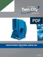 Haf High Efficency Industrial Airfoil Fans Catalog 1150