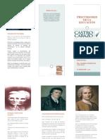 Brochure Precursores de La Educación