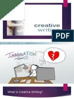 1.Creative Writing
