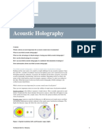 Acoustic Holography