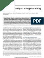 Arnegard, Et Al 2014. Genetics of Ecological Divergence During Speciation.
