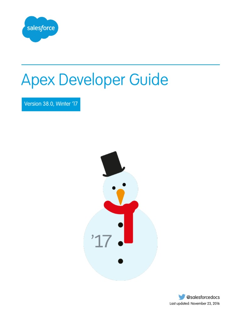 salesforce_apex_language_reference-nov-2016 pdf | Salesforce Com