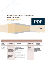 Revision de Literaturas Individuales