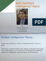 Multiple Intelligences - howard gardner