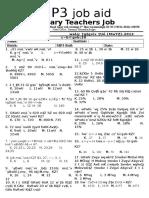 Special Exam(Math) 2013