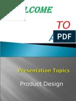 f Product Design 2009