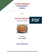 Low Fat Delicacies