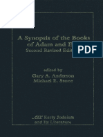 Gary a Anderson and Michael E Stone, A Synopsis of the Books of Adam and Eve