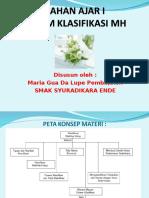 Bhn Ajar Sist.klasfikasi pert 1 Bab III PPT