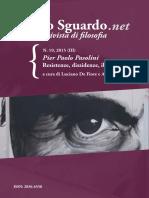 Pier Paolo Pasolini Dissidenze Resistenz