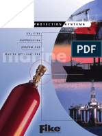 C02 Fire Suppression System for Marine Applications
