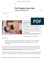 13 Reasons Why People Have Sex _ Psychology Today
