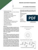 1151 Ionization Smoke Detector F-2001178