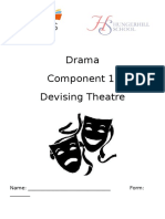 Component 1 Devising Booklet