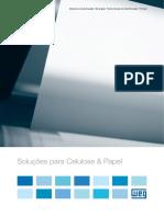 WEG Solucoes Para Celulose Papel 50022707 Catalogo Portugues Br