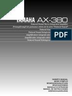 Yamaha AX 380