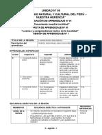 Sesiones de Aprendizaje - 2º