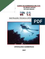 IT12 - Mergulho Minas Gerais