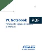 ASUS N551ZU Manual