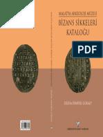 Malatya Arkeoloji Muzesi Bizans Sikkeler
