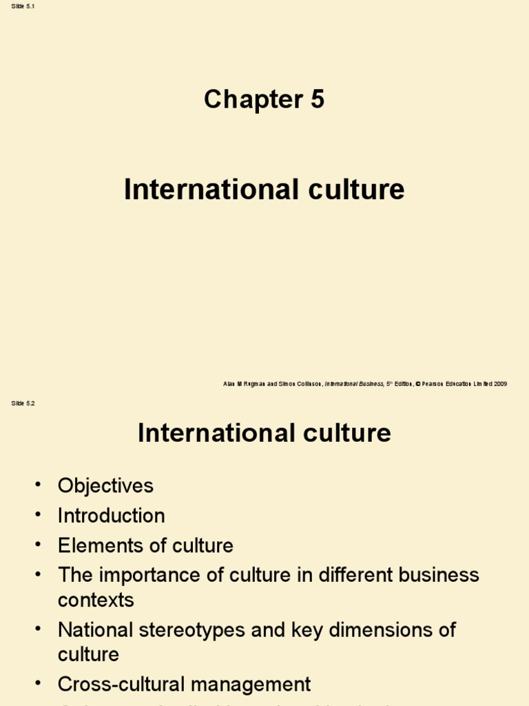Introduction to Cross | Organizational Culture