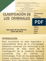Presentación Clasificación de los Criminales.ppt